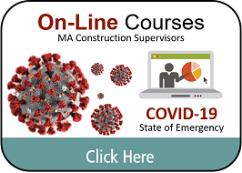 Massachusetts Construction Supervisor License FREE Continuing Education Classes